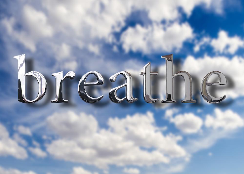 Breathe air concept